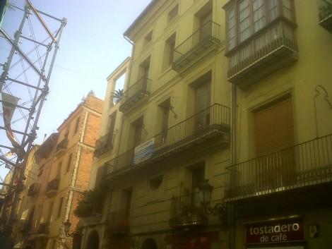 Obra calle Serranos 22
